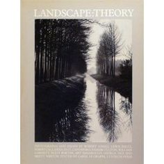 Landscape Theory, Ed. Carol Digrappa