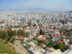 Atenas Vista parcial a partir do Partenon