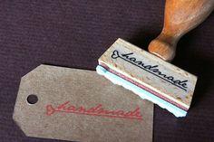 Bild: Stempel - handmade