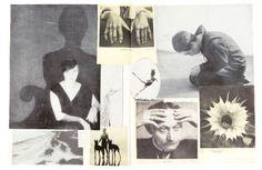 Deze collage is gemaakt door Hannah Höch. Je ziet allemaal verschillende foto's, maar toch is het samen één geheel. Dat wil ik ook met mijn collage doen. Er zijn vooral donkere, sombere kleuren gebruikt. Vooral de kleuren zwart, wit, grijs en beige. Door deze dezelfde kleuren wordt het samen een geheel. Er is ook gebruik gemaakt van schaduwen.