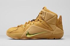NIKE LEBRON 12 (WHEAT)