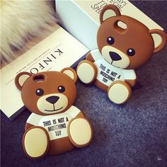 Fashion Bear Silikon Cover Case für iphone5/5S, iphone6/6Plus - elespiel.com