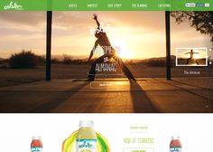 Evolution Fresh #webdesign #inspiration #UI