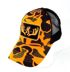 Browning Head Gear Baseball Caps Hat Camo Hunting Patriot Snapback OSFM   Browning  BaseballCap Browning 6827a461dd25