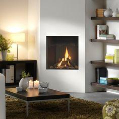 Venteo slimline- Dru fireplace designs.