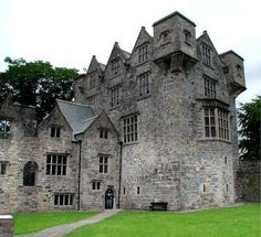 Donegal Castle County Donegal in the northwest of Ireland.