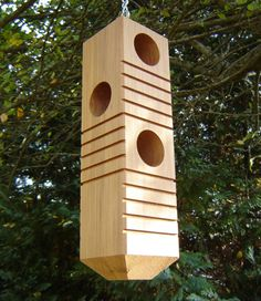 Bird House Plans 572027590172750048 - Best Collection Cool Birdhouse Designs Source by amauger Bird Feeder Plans, Bird House Feeder, Bird Feeders, Bird House Plans, Bird House Kits, Cool Bird Houses, Modern Birdhouses, Birdhouse Designs, Bird Aviary