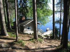 Sauna by the lake Portable Steam Sauna, White Cabin, Outdoor Sauna, Finnish Sauna, Outdoor Showers, Good Neighbor, Hot Tubs, Lake Life, Cabin Ideas