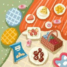 Kawaii Drawings, Cute Drawings, Cute Wallpapers, Wallpaper Backgrounds, Cute Doodles, Kawaii Wallpaper, Happy Birthday Cards, Cute Illustration, Aesthetic Art