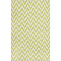 Safavieh Hand-woven Moroccan Reversible Dhurrie Chevron Green Wool Rug - Overstock™ Shopping - Great Deals on Safavieh 7x9 - 10x14 Rugs