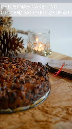 Lee Caroline - A World of Inspiration: Gluten, Dairy and Sugar Free Christmas Fruit Cake