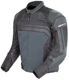 Special Offers - Joe Rocket Reactor 3 Mens Mesh and Leather Motorcycle Jacket (Black/Gun Metal Large) - In stock & Free Shipping. You can save more money! Check It (September 01 2016 at 06:38AM) >> http://motorcyclejacketusa.net/joe-rocket-reactor-3-mens-mesh-and-leather-motorcycle-jacket-blackgun-metal-large/