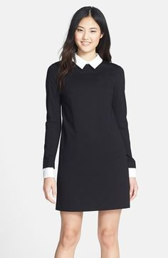 Cynthia+Steffe+Ponte+Shirtdress+available+at+#Nordstrom