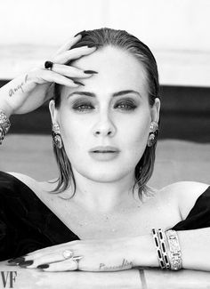 """""""Adele, the Queen of Hearts, for Vanity Fair (December """" Vanity Fair, Adele Makeup, Taylor Swift, Adele Love, Adele Style, Adele 25, Britney Spears, Adele Photos, Adele Pictures"""