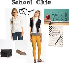 What To Wear | School Chic