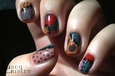 manicure is inspired by Sally from The Nightmare Before Christmas Nail Swag, Pretty Nails, Fun Nails, Nice Nails, Sally Nails, Nightmare Before Christmas Nails, Disney Nails, Hair Skin Nails, Christmas Nail Art