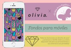 #Descargas #wallpapers #fondosdeescritorio #ilustración #illustration #downloads #ipad #tablet #android #iphone #oliviabags #style #techglam
