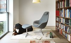 Swivel fabric armchair with base with armrests VARIER KOKON Relax Collection by Varier Furniture Egg Chair, Sofa Chair, Relax, Fabric Armchairs, Modern Kitchen Design, Furniture Design, Base, Home Decor, Zero