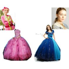 """""""Lottie and Anastasia at the Ball"""" by mandilynn726 on Polyvore"""