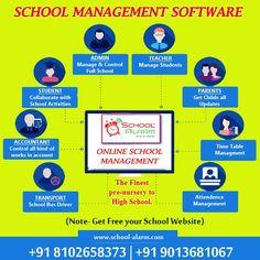 School Fun, High School, School Bus Driver, All Schools, Software, Management, Teacher, Student, Professor