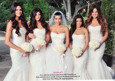 Kardashian Sisters- say what you will about them, but they love each other.