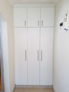 Running out of space for your clothes?  Let one of our contractors design you a built in cupboard that will utilize your available space carefully.  With multiple shelves and pull down hanging rails we can create the best BIC for your needs.  For more information contact our office KZN Property Maintenance Service 031 564 3855 Info@kznprop.co.za www.kznprop.co.za Tall Cabinet Storage, Locker Storage, Hanging Rail, Cupboard, Armoire, Shelves, Running, Space, Create