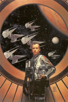 Soontir Fel (cover art from X-wing Rogue Squadron: Blood and Honor) by Tim Bradstreet and Grant Goleash Star Wars Film, Star Wars Fan Art, Star Wars Concept Art, Star Wars Rpg, Star Wars Ships, Star Wars Poster, X Wing, Star Wars Comics, Marvel Comics