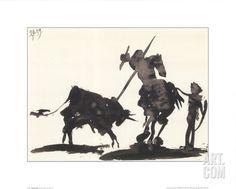 Art.fr - Reproduction d'art 'Toros y toreros' par Pablo Picasso