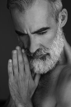 Foto by Fábio Caetano for Just Models White Beard, Male model
