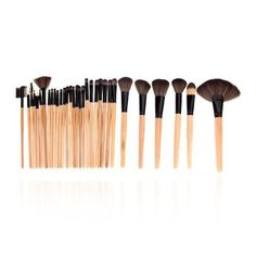 32 pcs Makeup Brush Professional Contouring Cosmetic Beauty Foundation Blending Set - The Accessory Nook - 2