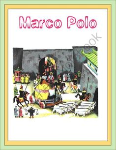 Marco Polo Thematic Unit from Joy of Learning on TeachersNotebook.com (18 pages)  - This unit explains how Marco Polo lived and was educated as a child. His explorations along the Silk Road and more are presented. The unit includes worksheets: fill in the blank, criss cross, and word find. Middle Ages History, Teacher Notebook, Christopher Columbus, Gifted Education, Thematic Units, Marco Polo, Unit Studies, Silk Road, World History