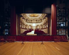 Palace Theatre, Sanssoucis, Potsdam | 15 Photos Of What Actors See When They're On Stage