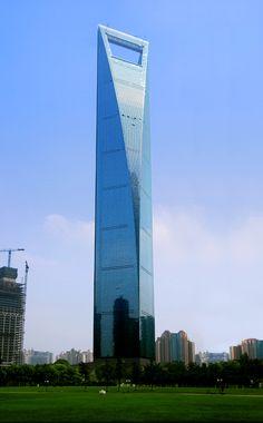 Shanghai World Financial Center: Shanghai(China) 492 m