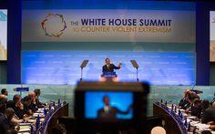 Obama counters viole