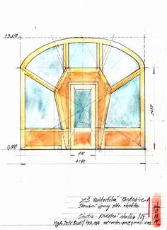 Door design for waldorf school in Pardubice, Czech Republic Organic Architecture, Futuristic Architecture, School Architecture, Waldorf Preschool, Space Drawings, School Plan, Tadelakt, Rudolf Steiner, Nursery School