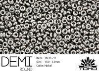 TOHO Demi Round 11o-711 Nickel - 5 g