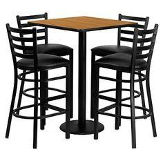 Staples Bar table & stool set.