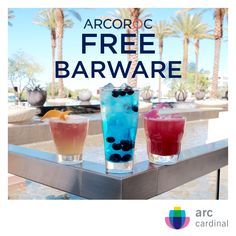 Free Barware! Arc Cardinal will buy your old barware @ $1.00 per glass & give you BOGO free case when you purchase our new 2017 Arcoroc collections. cardinalfoodservice.com/barware or cardinalsales@arc-intl.com. USA only.
