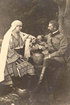 Queen Marie and King Ferdinand of Romania Michael I Of Romania, Romanian Royal Family, Beautiful Castles, Royal House, Queen Mary, Ferdinand, Queen Victoria, Old Pictures, We The People