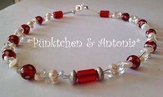 Ketten kurz - *PÜNKTCHEN & ANTONIA...!*-COLLIER SÜSSWASSERPERLEN - ein Designerstück von pomp-and-jewels bei DaWanda
