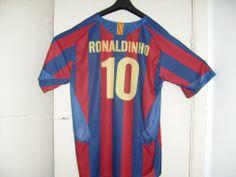 22b5208b759 Ronaldinho Shirt - FC Barcelona Barcelona Fc