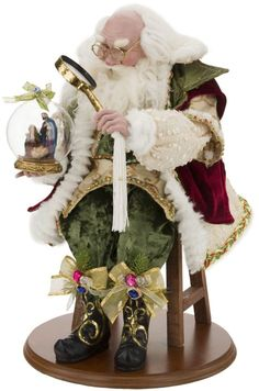 Make a grand Christmas display with this enchanting Finishing Touches Santa designed by artist Mark Roberts. A limited edition Christmas statement piece. Father Christmas, Santa Christmas, Christmas Shopping, Christmas Ideas, Christmas Crafts, Christmas Decorations, Holiday Decor, Santa And Reindeer, Santa Clause