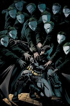 Batman vs the Court of Owls