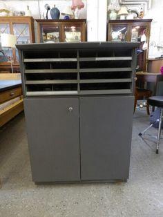 Post Office Filing Cupboard ------------------ Height - 102cm Width - 72cm Depth - 30cm £65 (PC225)