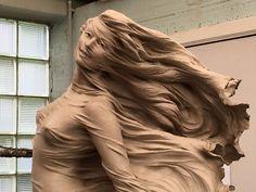 Artista chinesa cria esculturas incríveis para celebrar a beleza feminina. – Criatives   Criatividade com um mix de entretenimento.
