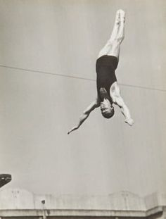 Le saut I (the dive), 1934 by Andre Steiner