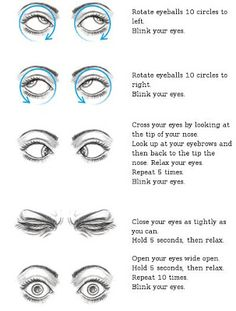 eye exercises | LinkNotes: Eye exercises