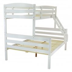 Metal Beds Moderna Triple Bunk Bed from with FREE delivery! Wooden Bunk Beds, Triple Bunk, Childrens Beds, Metal Beds, Free Delivery, Bed Frames, Bedroom, House, Furniture