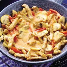 Recept - Snelle stroganoff met aardappelpuree - Allerhande