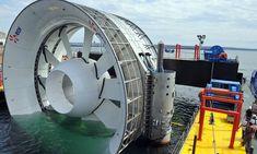 An underwater turbine